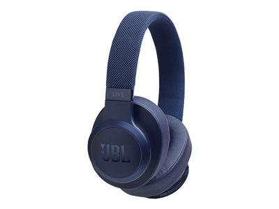 JBL Live 500 Over-Ear Wireless Headphones - Blue