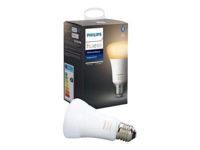 Philips Hue White Ambiance E27 Single Bulb