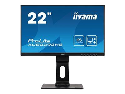 "iiyama ProLite XUB2292HS-B1 22"" 1920x1080 4ms VGA HDMI DisplayPort IPS LED Monitor"