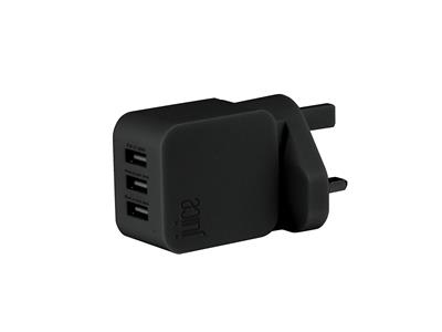 Juice Triple Juice - 3.4Amp 3-Port Mains Adapter
