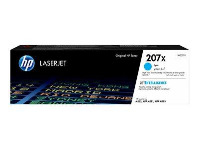 HP 207X High Yield Cyan Original LaserJet Toner Cartridge