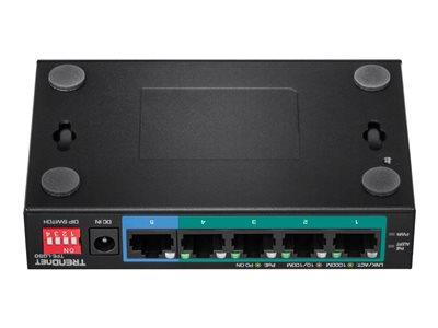 TRENDnet 5-Port Gigabit Long Range PoE+ Switch