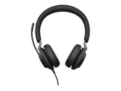 Jabra Evolve2 40 USB-A MS Stereo Headset - Black