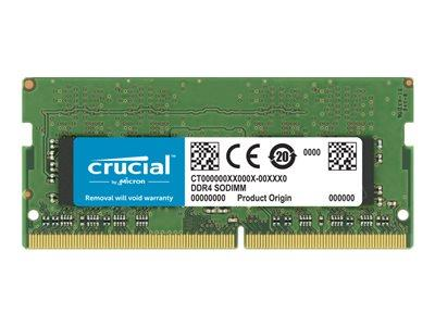 Crucial 32GB DDR4 2666 MHz SODIMM CL19 Memory