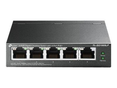 TP LINK 5-Port Gigabit Desktop Switch With 4-Port PoE+