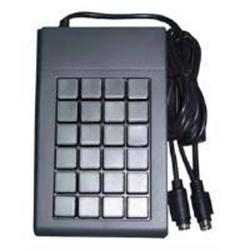 Ceratech Programmable 24 key Keypad USB - Black