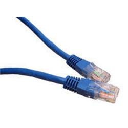 Cables Direct 3m Network 5E Patch Lead - Moulded - Blue - B/Q 100