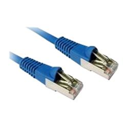 Cables Direct 2m CAT6A SSTP-LSOH Patch Cable Snagless Blue - B/Q 100
