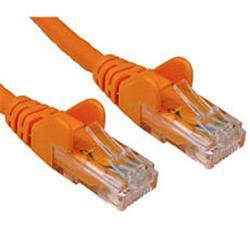 Cables Direct Cable Depot - Patch cable - RJ-45 (M) to RJ-45 (M) - 1.5m - CAT 6 - moulded, halogen-free - Orange