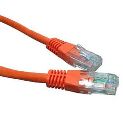 Cables Direct - Patch cable - RJ-45 (M) - RJ-45 (M) - CAT 6 - 5m - Orange