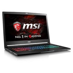 "MSI GS73VR 7RF i7-7700HQ 2TB 256GB SSD GTX 1060 17.3"" Windows 10"