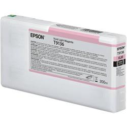 Epson T9136 200ml Vivid Light Magenta Original Ink