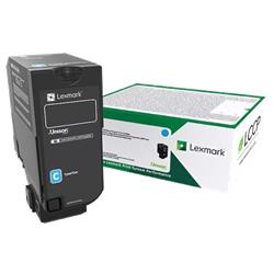 Lexmark Cs/Cx827 Cyan Return Program Toner Cartridge 15K